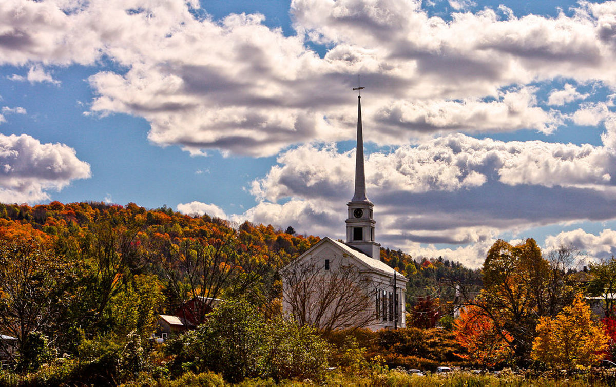 New England Autumn Foliage
