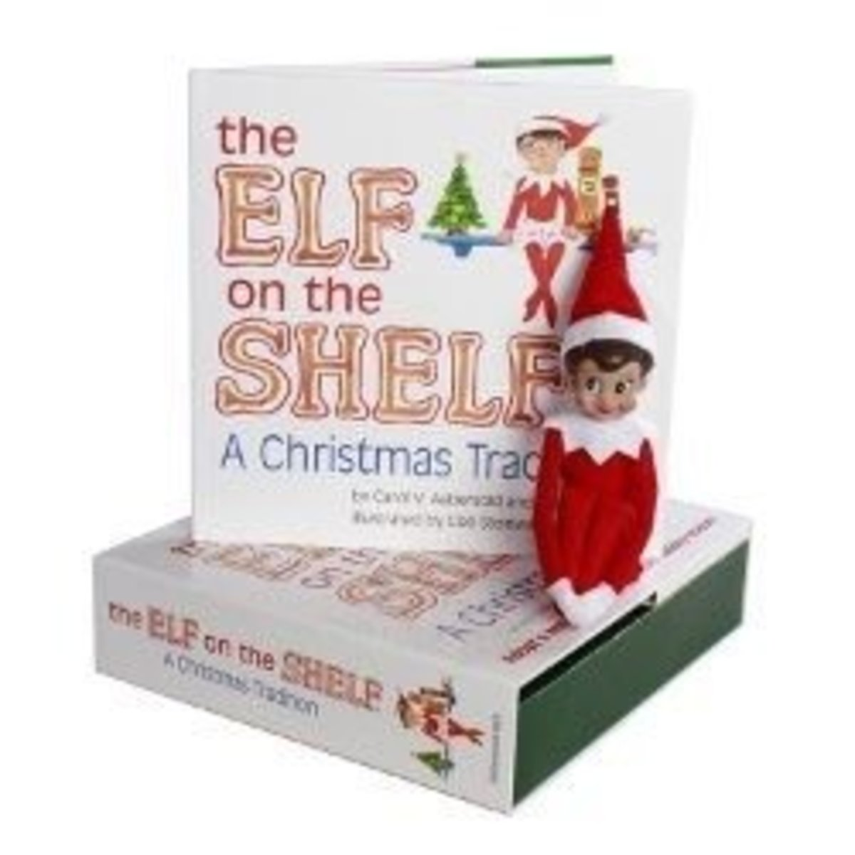 The Elf On The Shelf comes with different hair and eye color choices.  See Amazon for more details; that's where this picture came from.