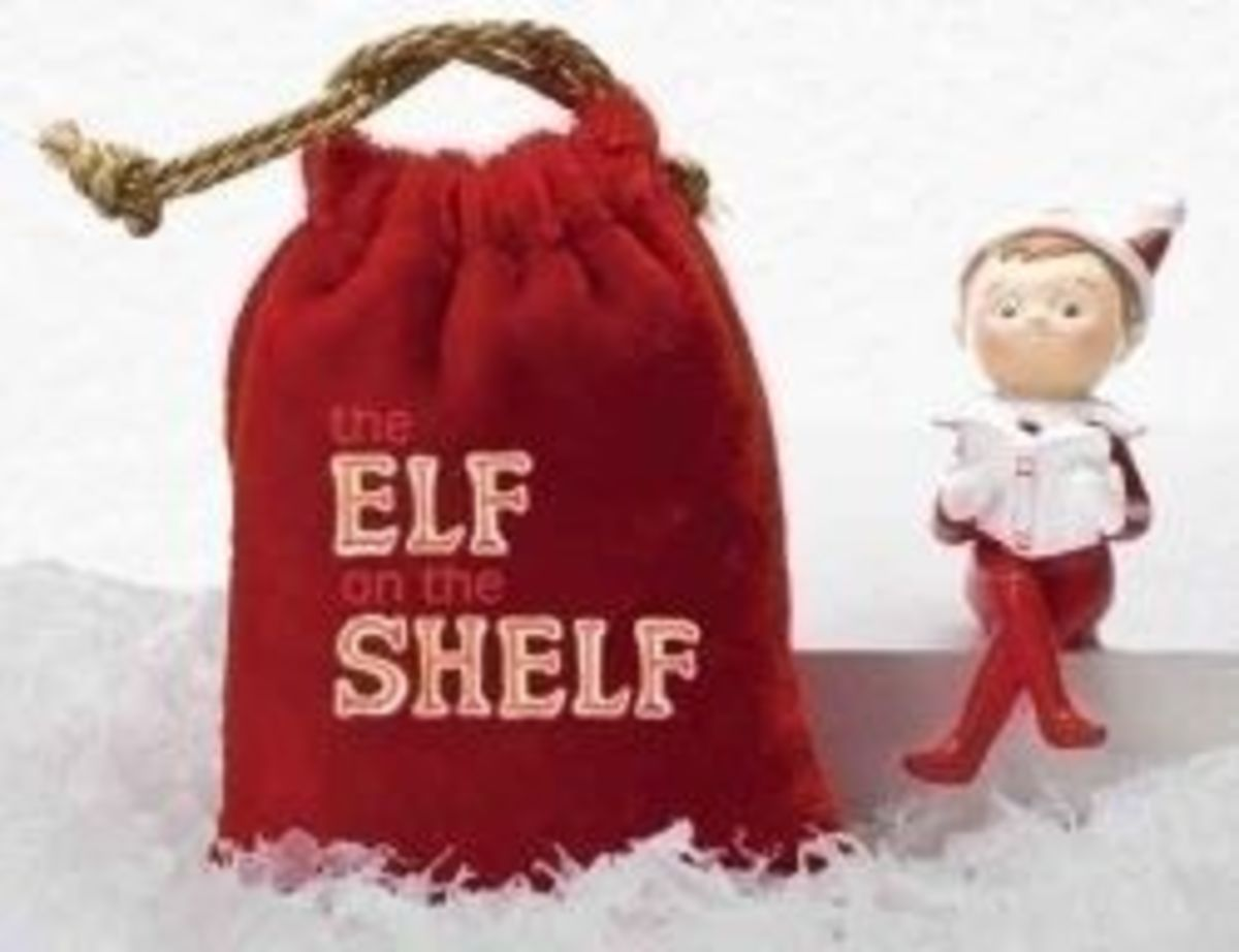 Here's The Baby Elf On The Shelf - Find more information by clicking the link!  This picture is from Amazon.