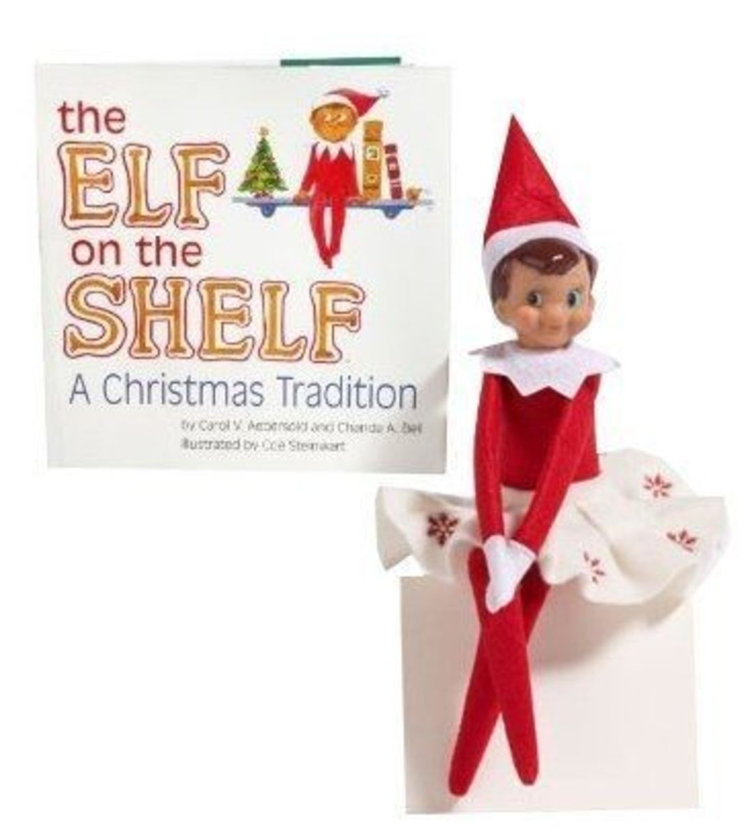 Here's an Elf on the Shelf for girls!