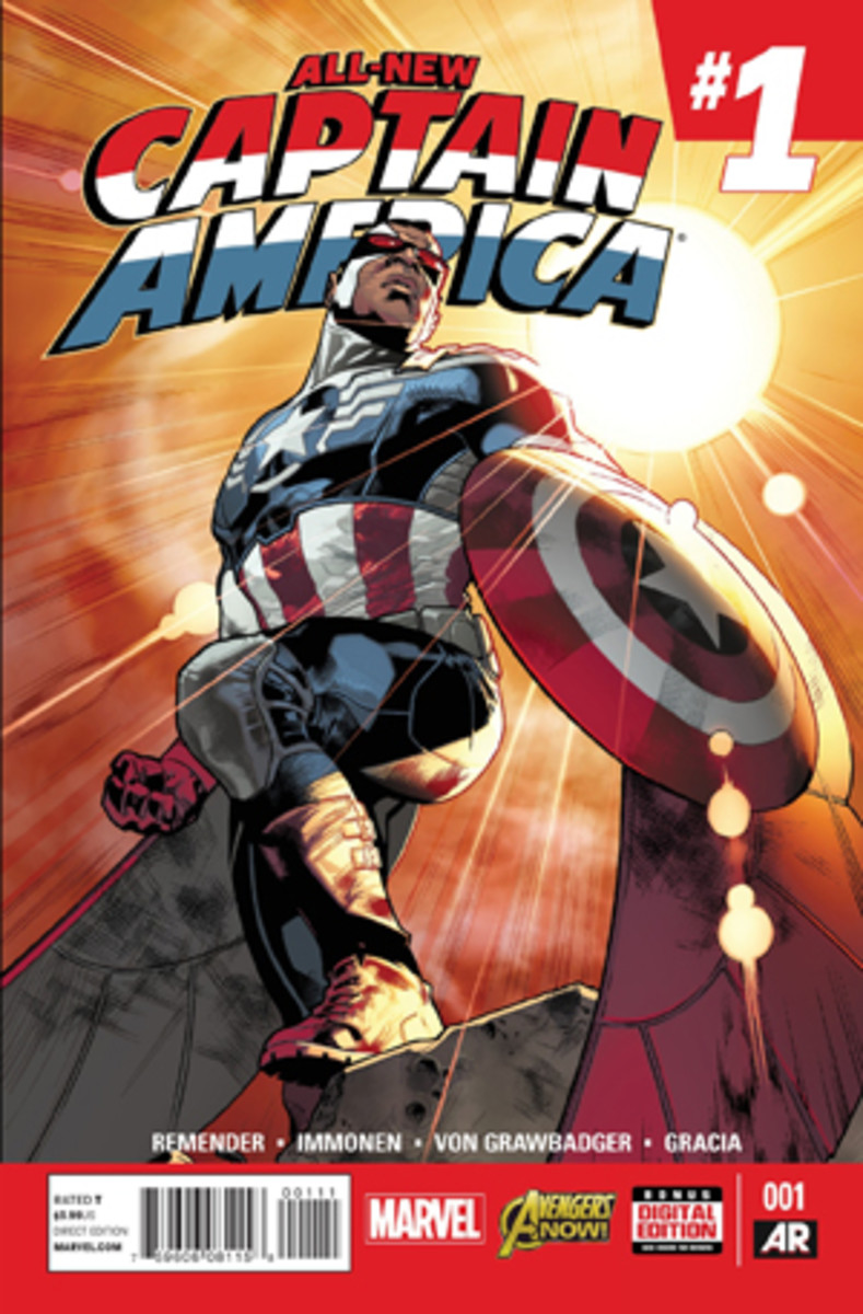 The Falcon is the new Captain America