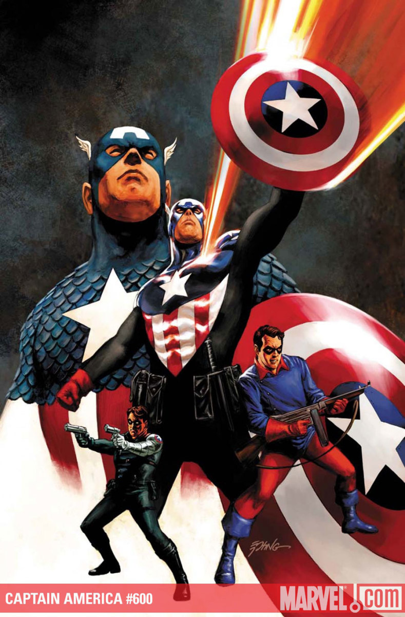 The New Captain America—Bucky Barnes