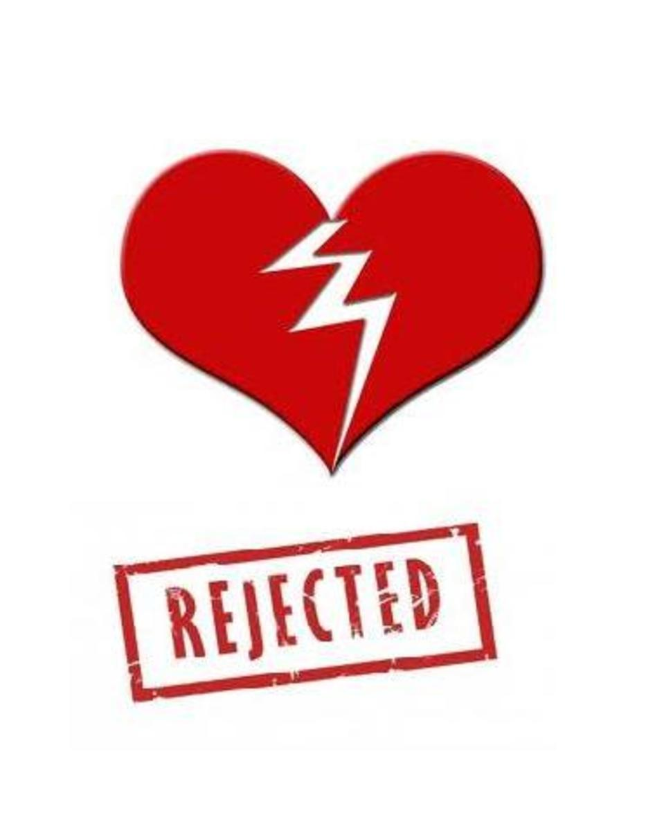 Why can't some men handle rejection in love? 10 Tips on handling rejection