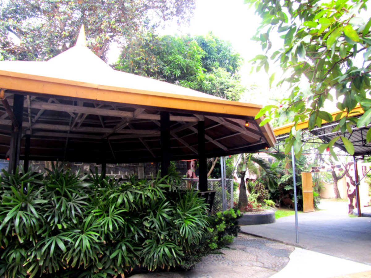 The Gazebo: For a little shade against the sun.