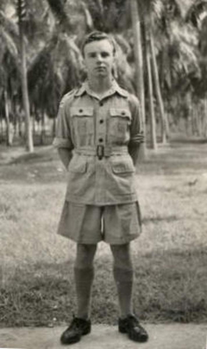 Cool, light uniform for the 'Far East'