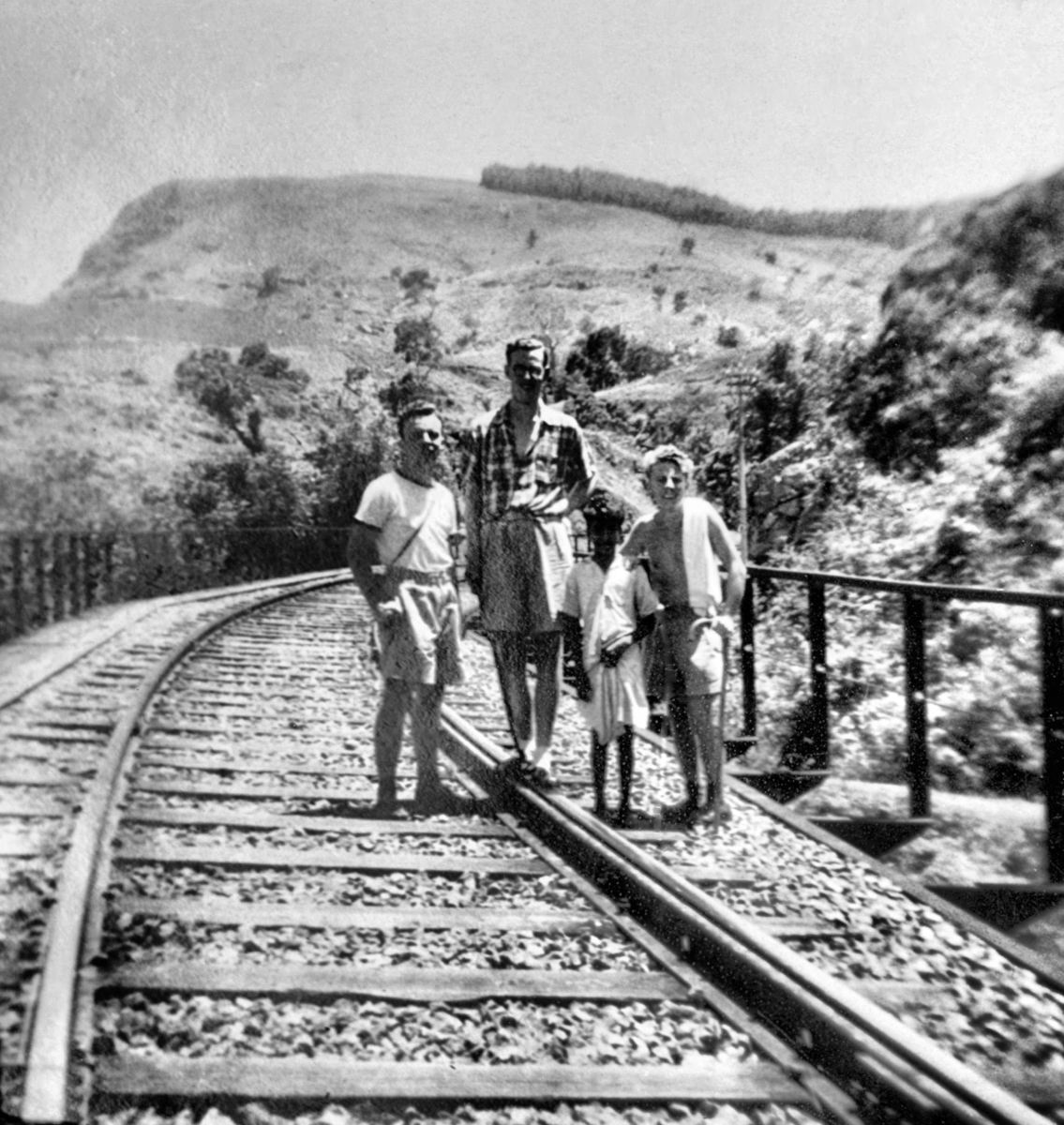 Dave Neale and Friends at Ella Gap. 1951