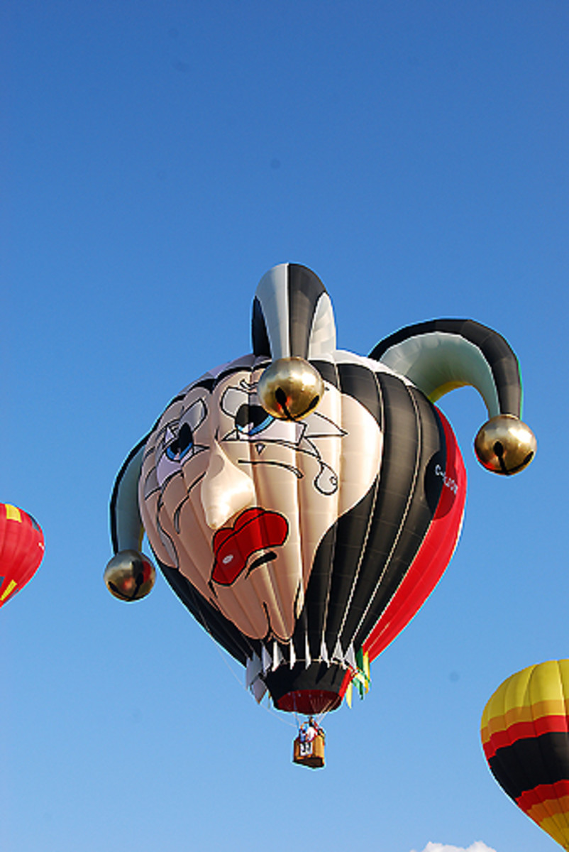 Jester Hot Air Balloon
