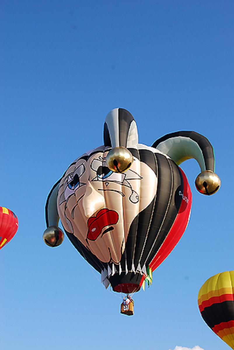 Jester Hot Air Balloon