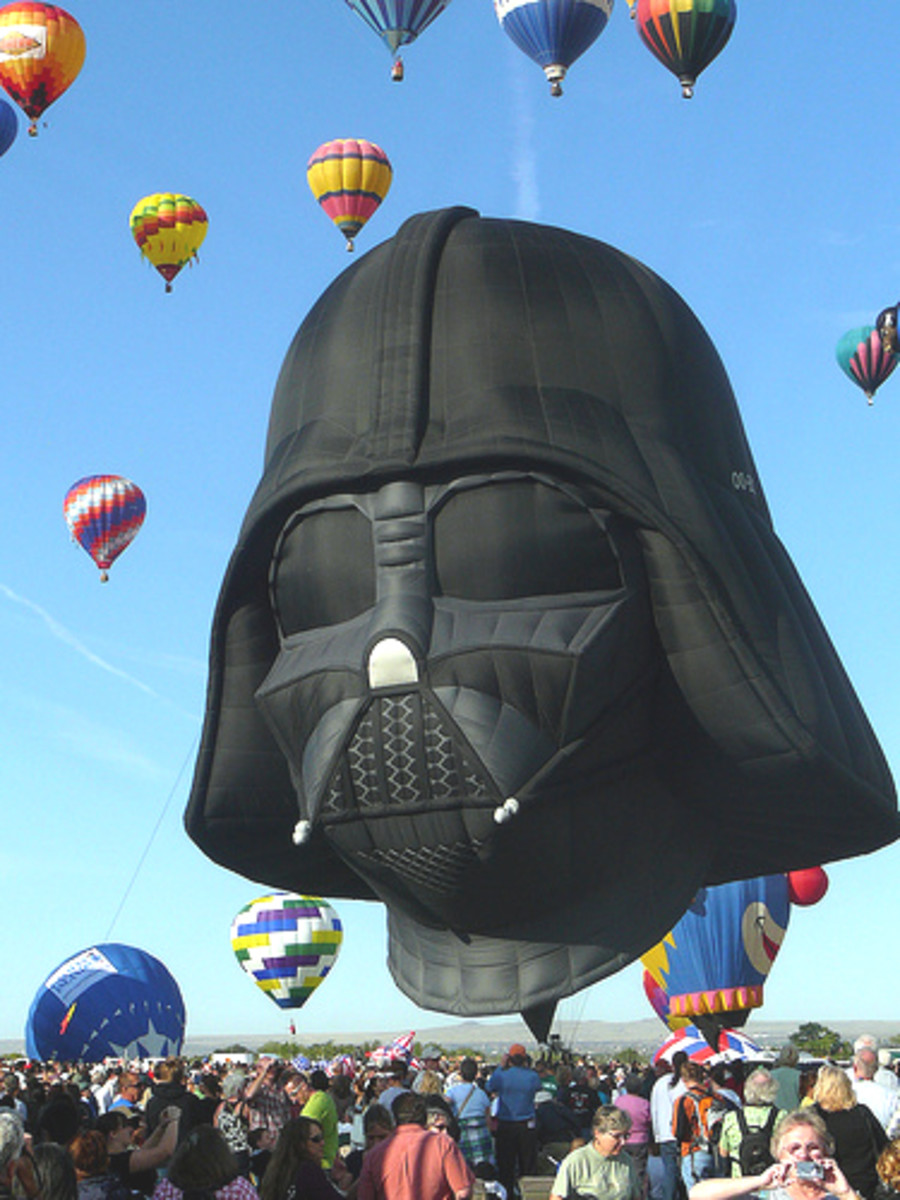 Hot Air Balloon (Darth)