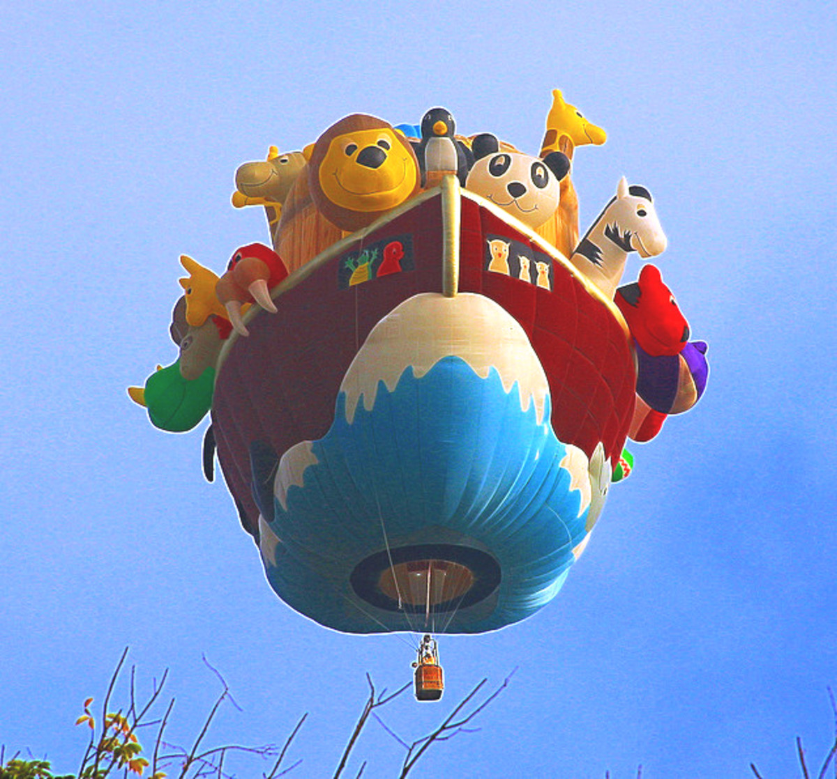 Noahs ark Hot Air Balloon