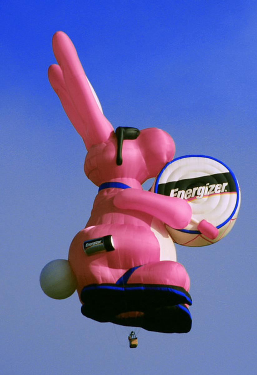 Energizer Bunny Hot Air Balloon