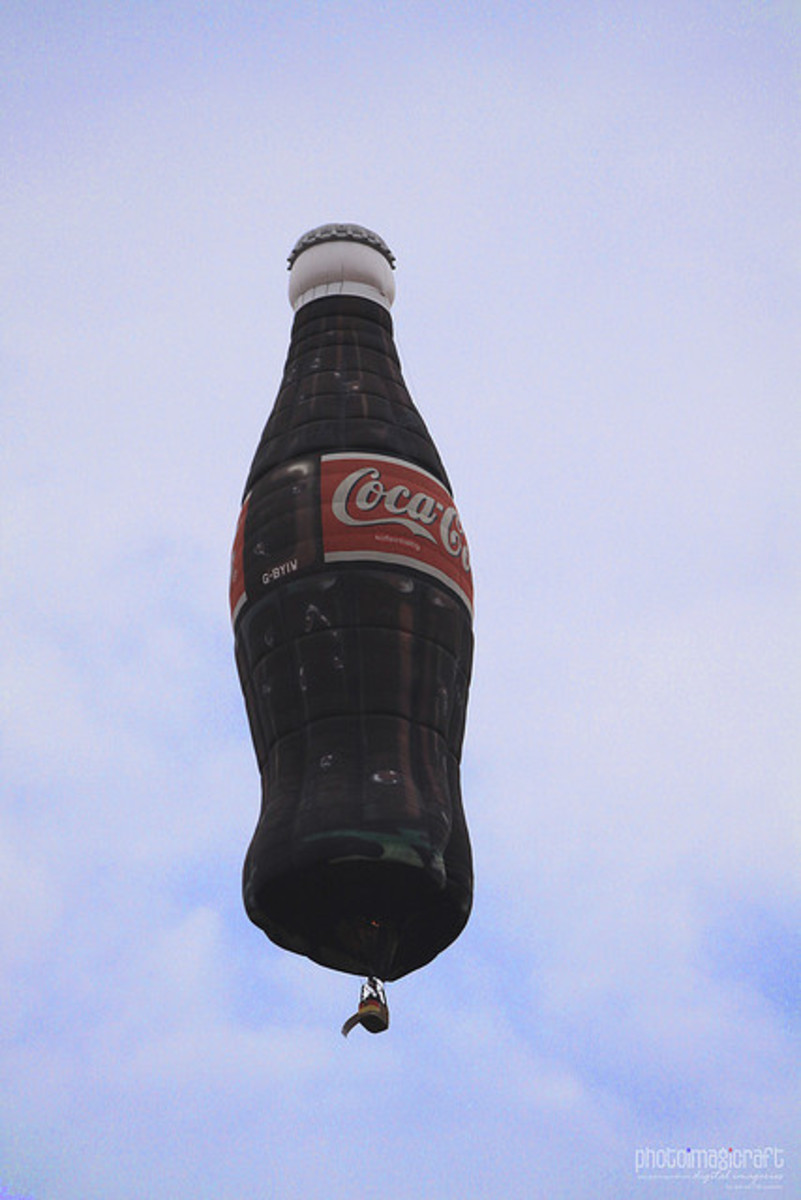 Coke Hot Air Balloon