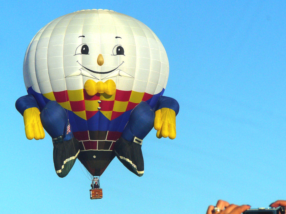 Humpty Dumpty Hot Air Balloon
