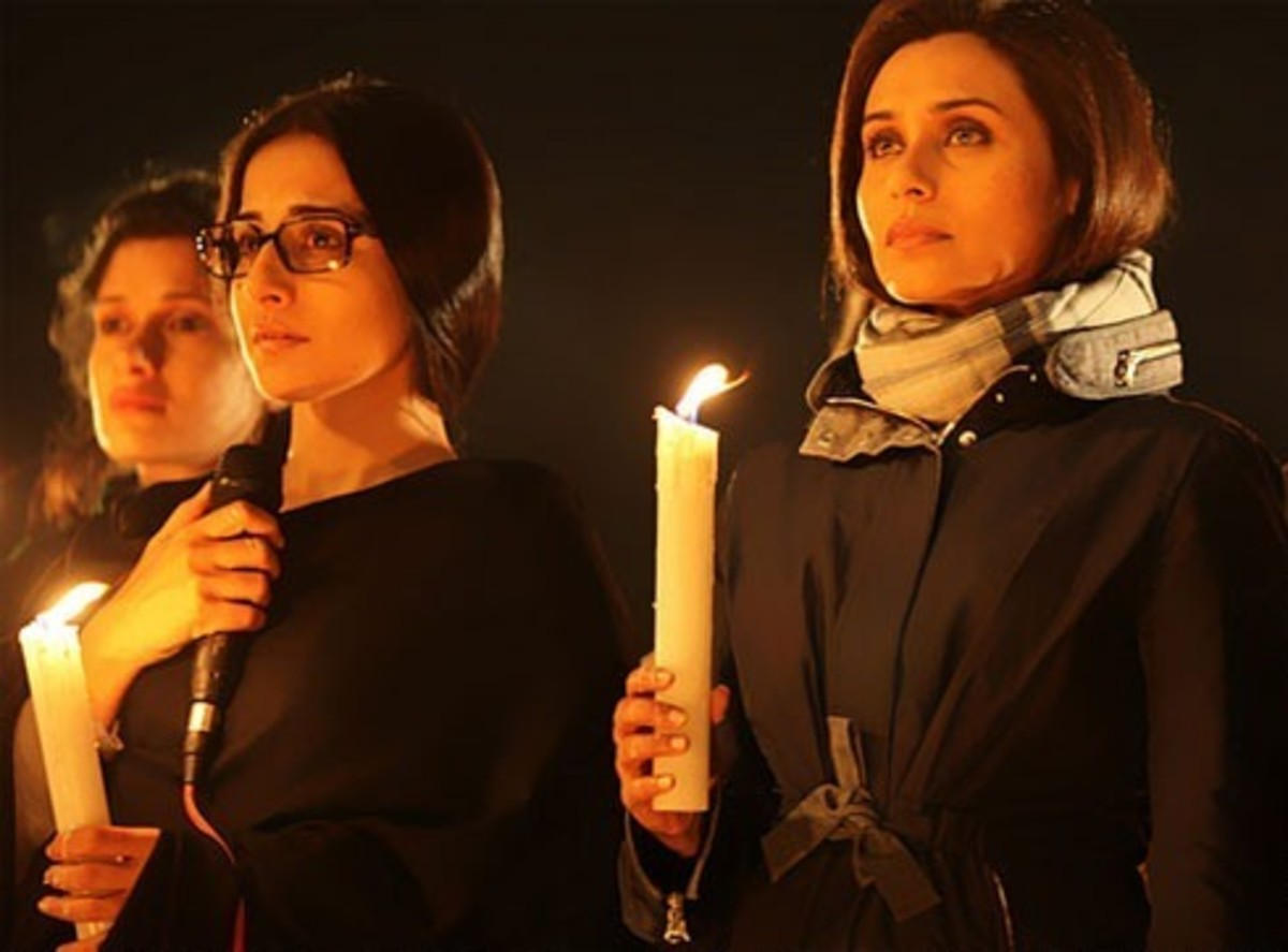 Vidya Balan and Rani Mukherji in No One Killed Jessica.
