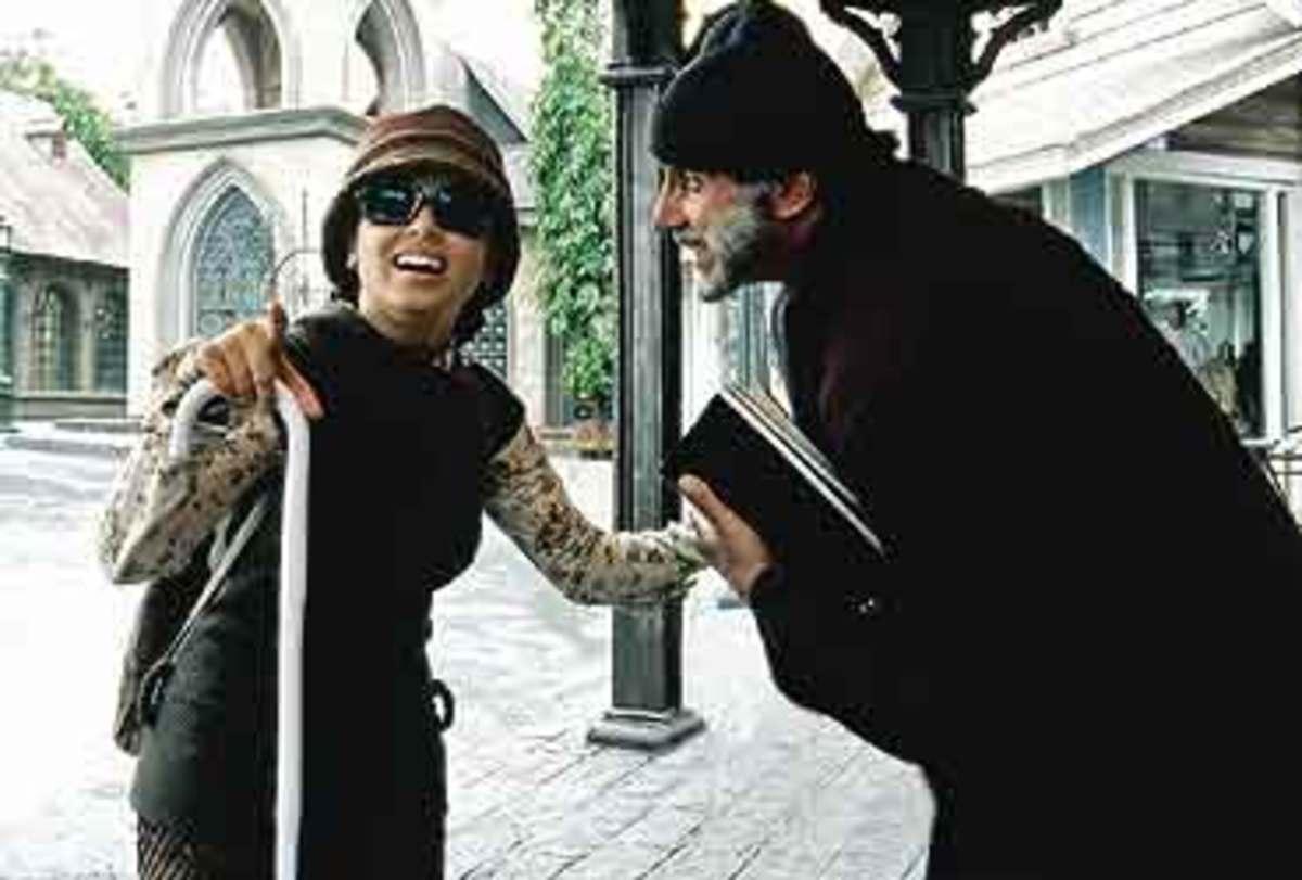 Rani Mukherjee and Amitabh Bachchan in Black.