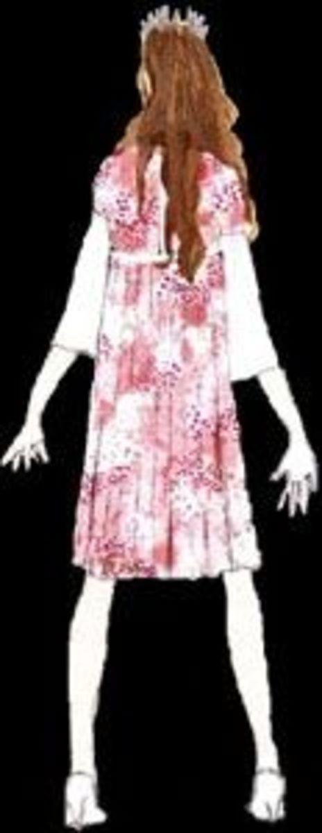 Costume Design for Fleur de Lys