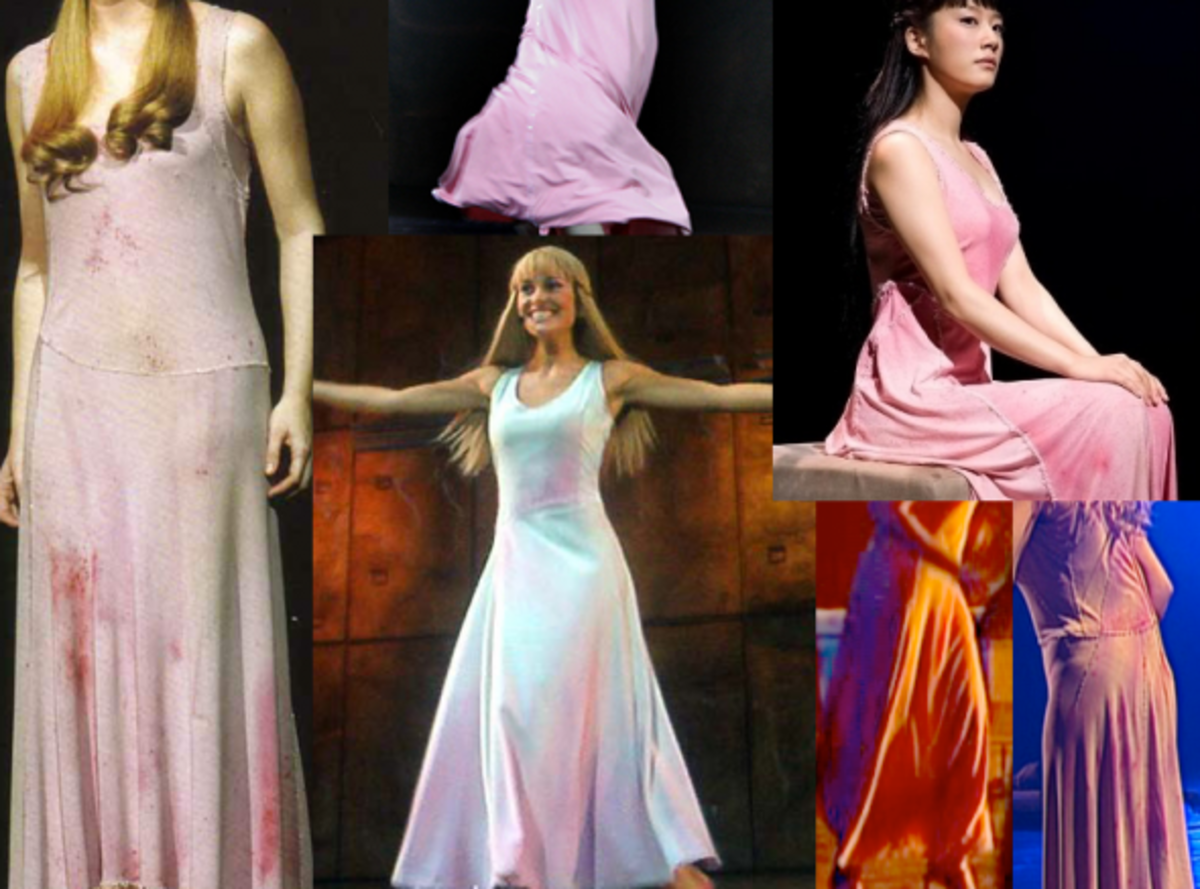 Fabric  for the Fleur de Lys Notre dame de Paris  Costume