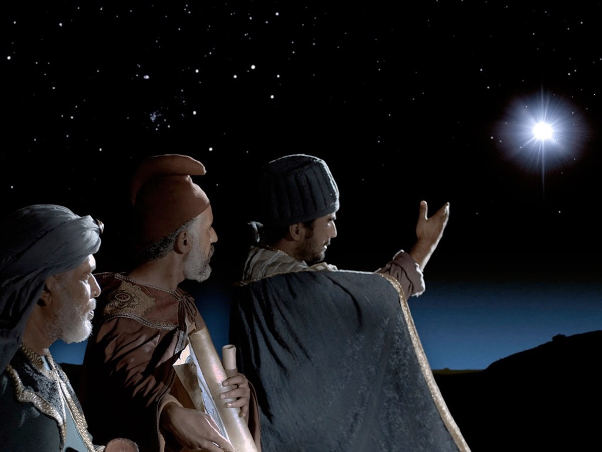 The Bible does not say there were three wise men.
