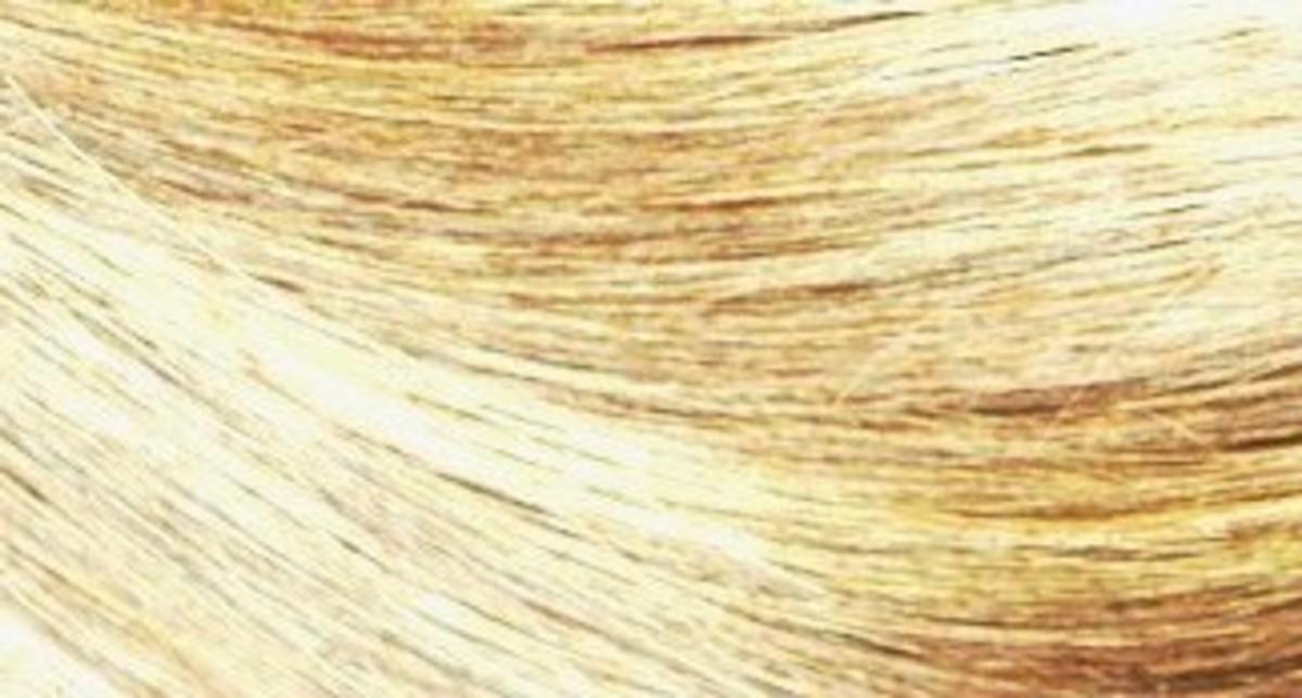 Sun-In Hair Lightener After: Light Blonde