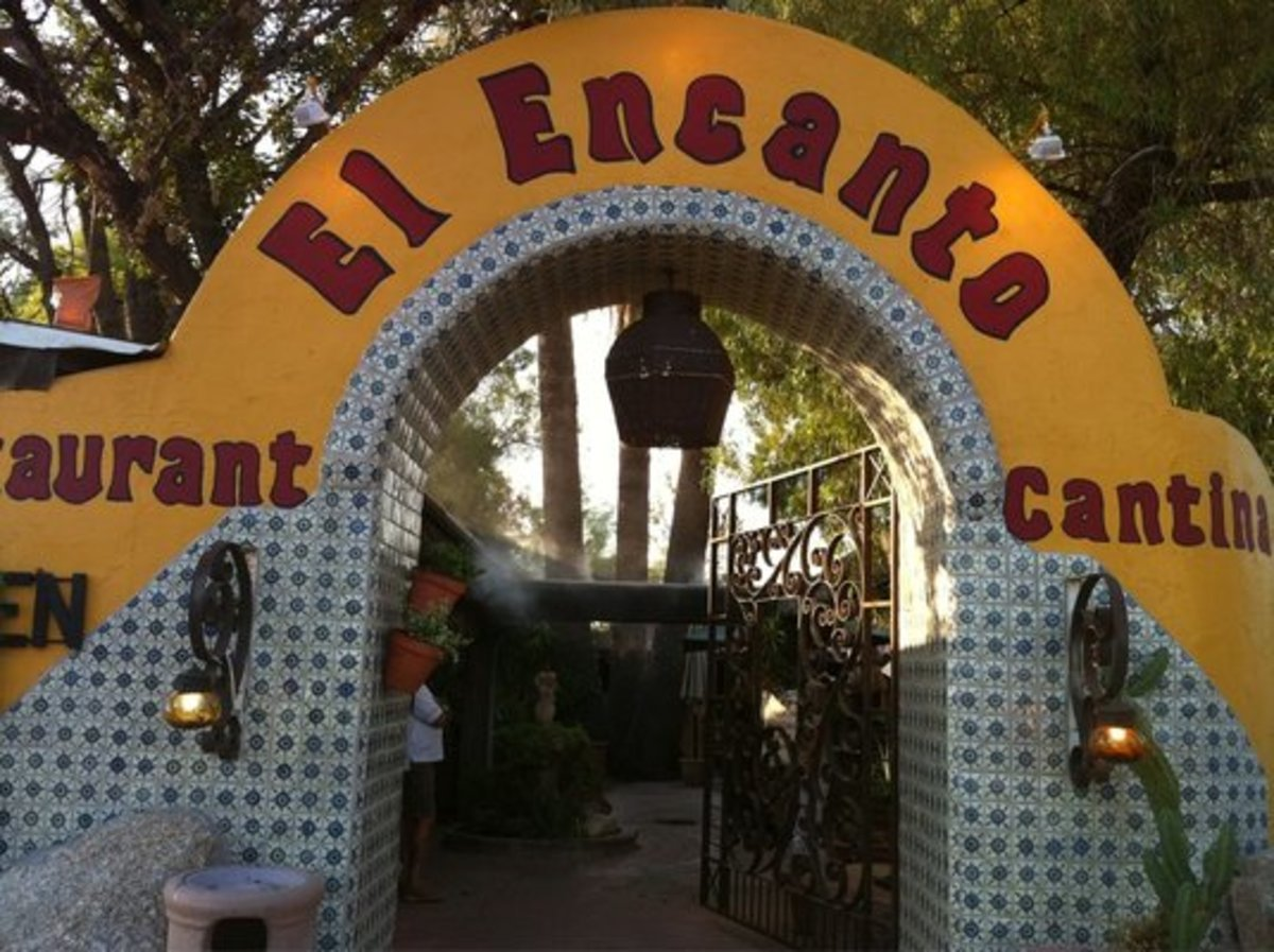 Hungry for Mexican Food? El Encanto is a restaurant perfect for a nice outdoor lunch.