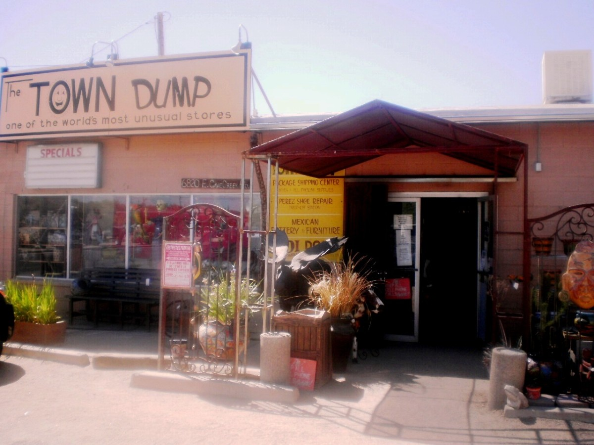 The Town Dump is a must see in Cave Creek