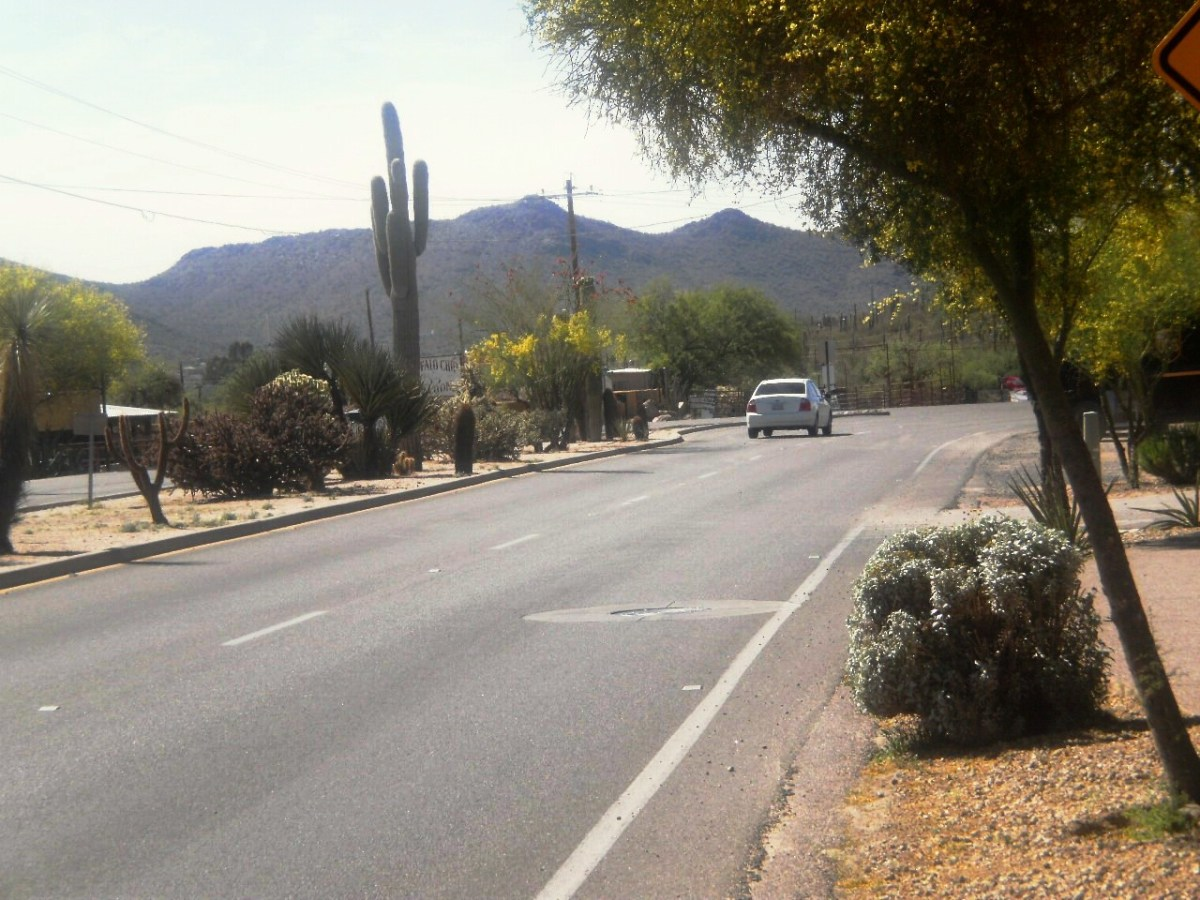Cave Creek is a short 30-minute drive from Phoenix.
