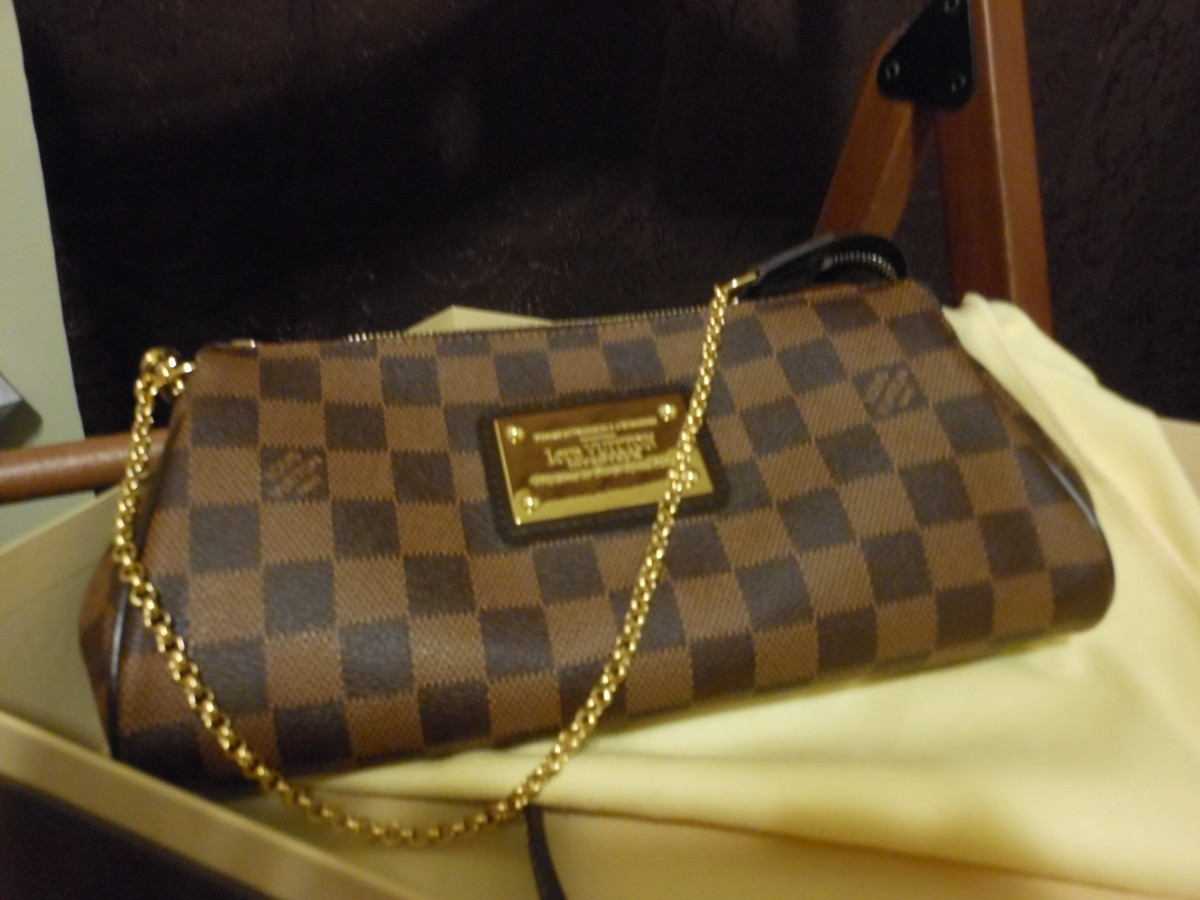 5f2e55b263d0 LV (Louis Vuitton) Damier ebene Eva clutch review