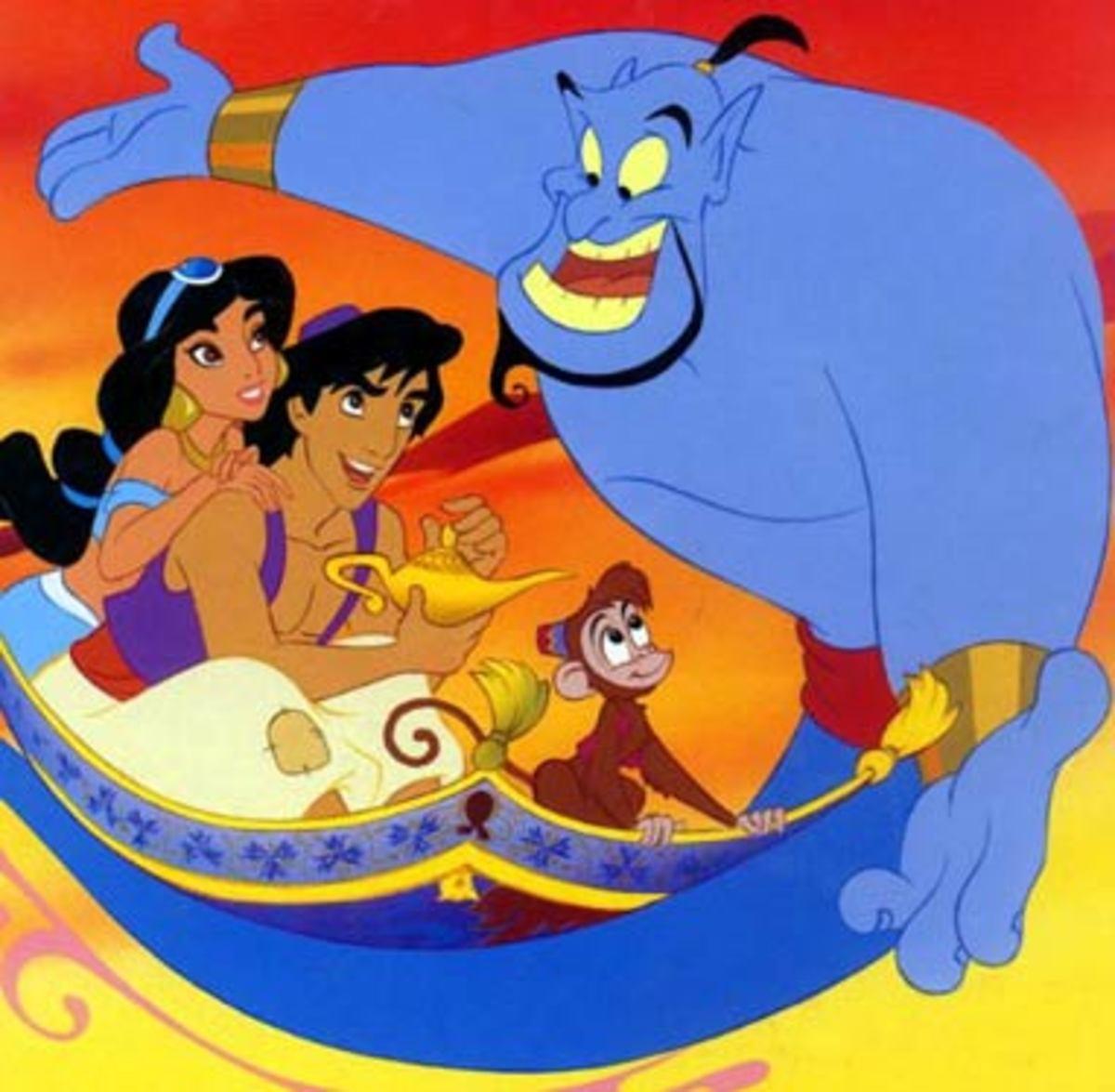 Gender Role Reversal in Disney's Aladdin