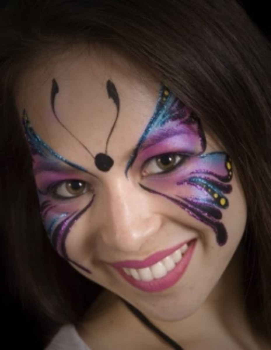 Butterfly Makeup Masks Hubpages