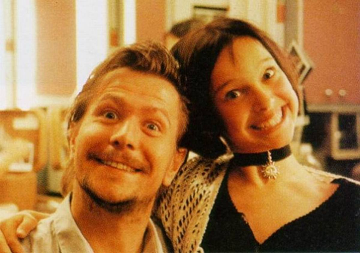 Gary Oldman and Natalie Portman