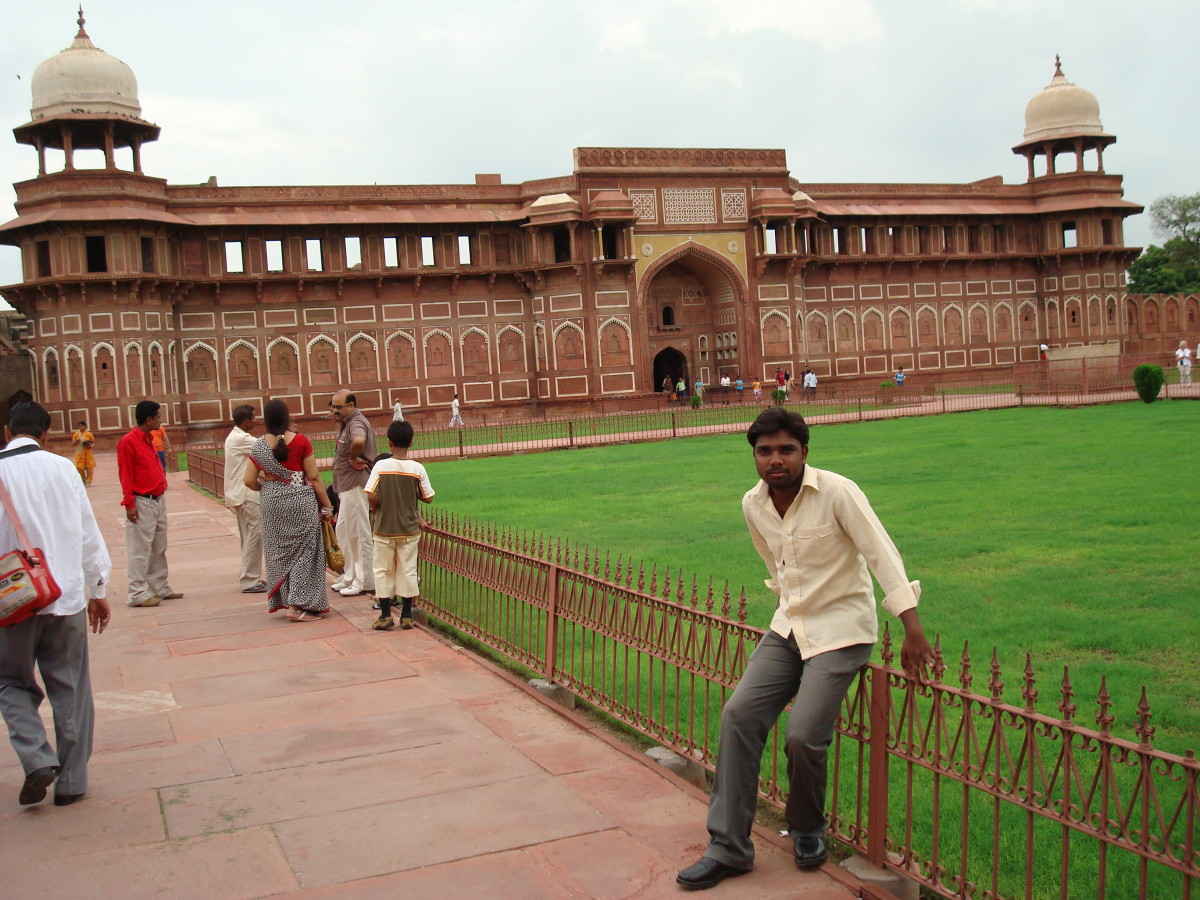 Jahangiri mahal in Agra Fort