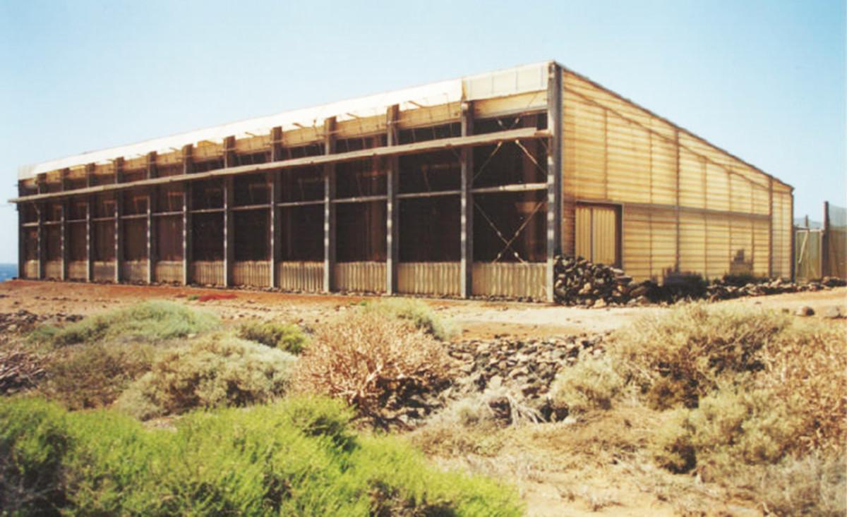 The Seawater Greenhouse at Tenerife.