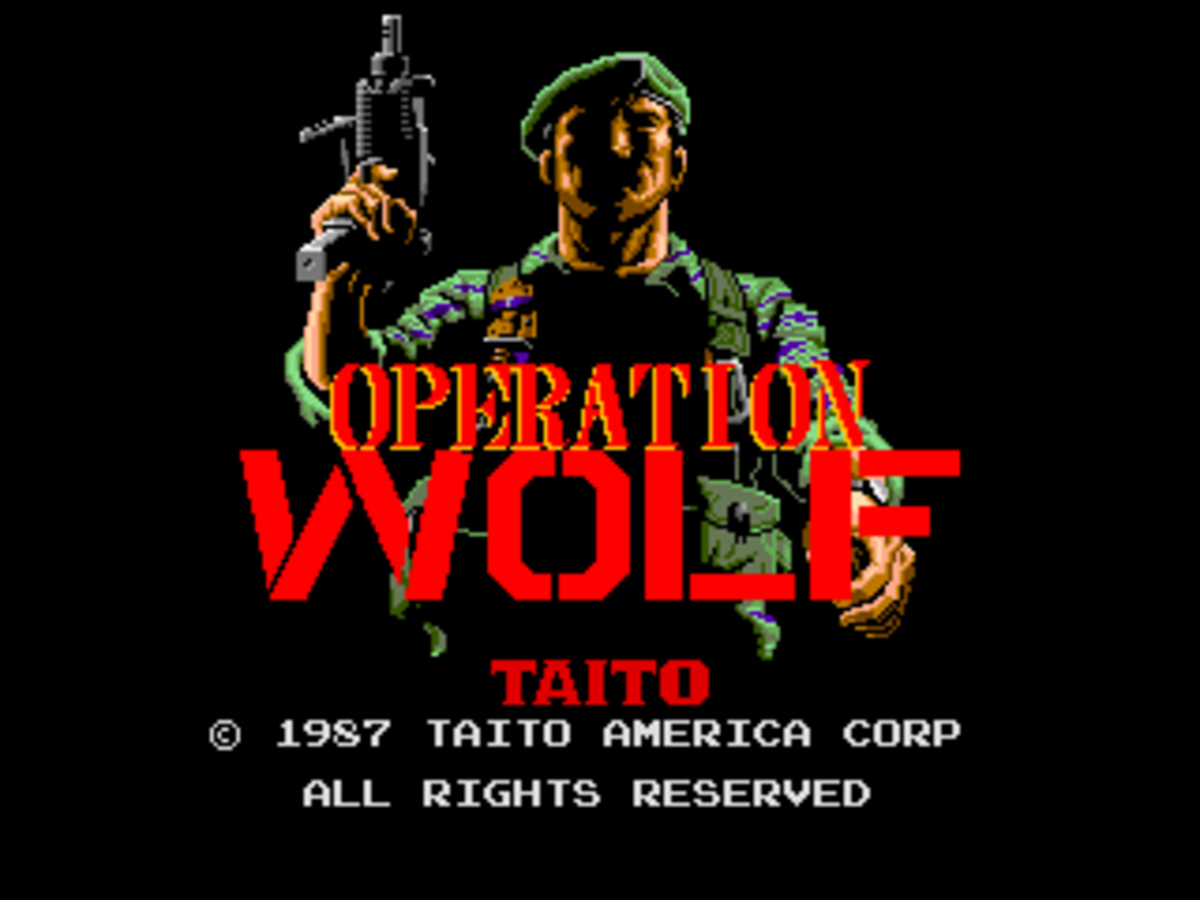 Operation Wolf Arcade Game