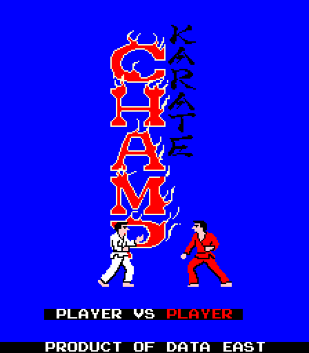 Insert Coins into Karate Champ Player One...