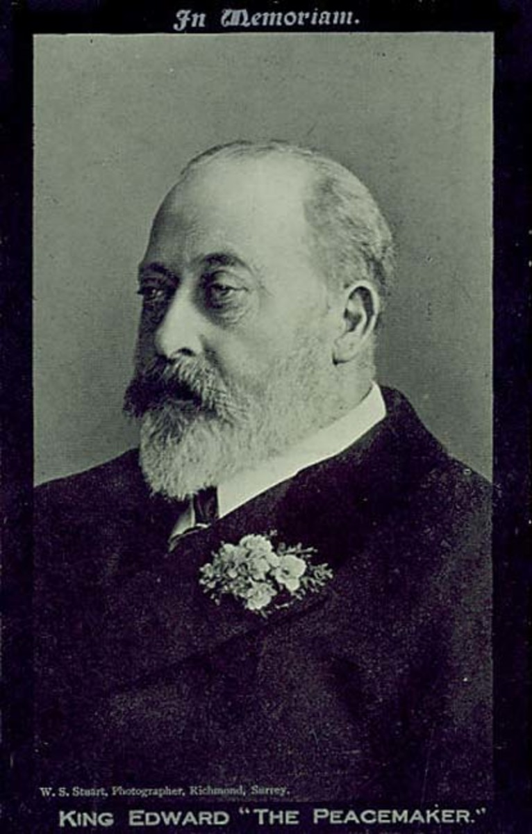 King Edward VII, Prince Albert's grandfather