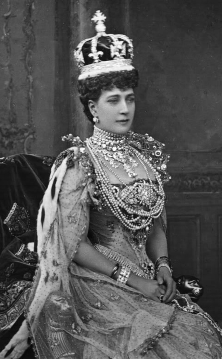 Queen Alexandra of Denmark, Prince Albert's grandmother