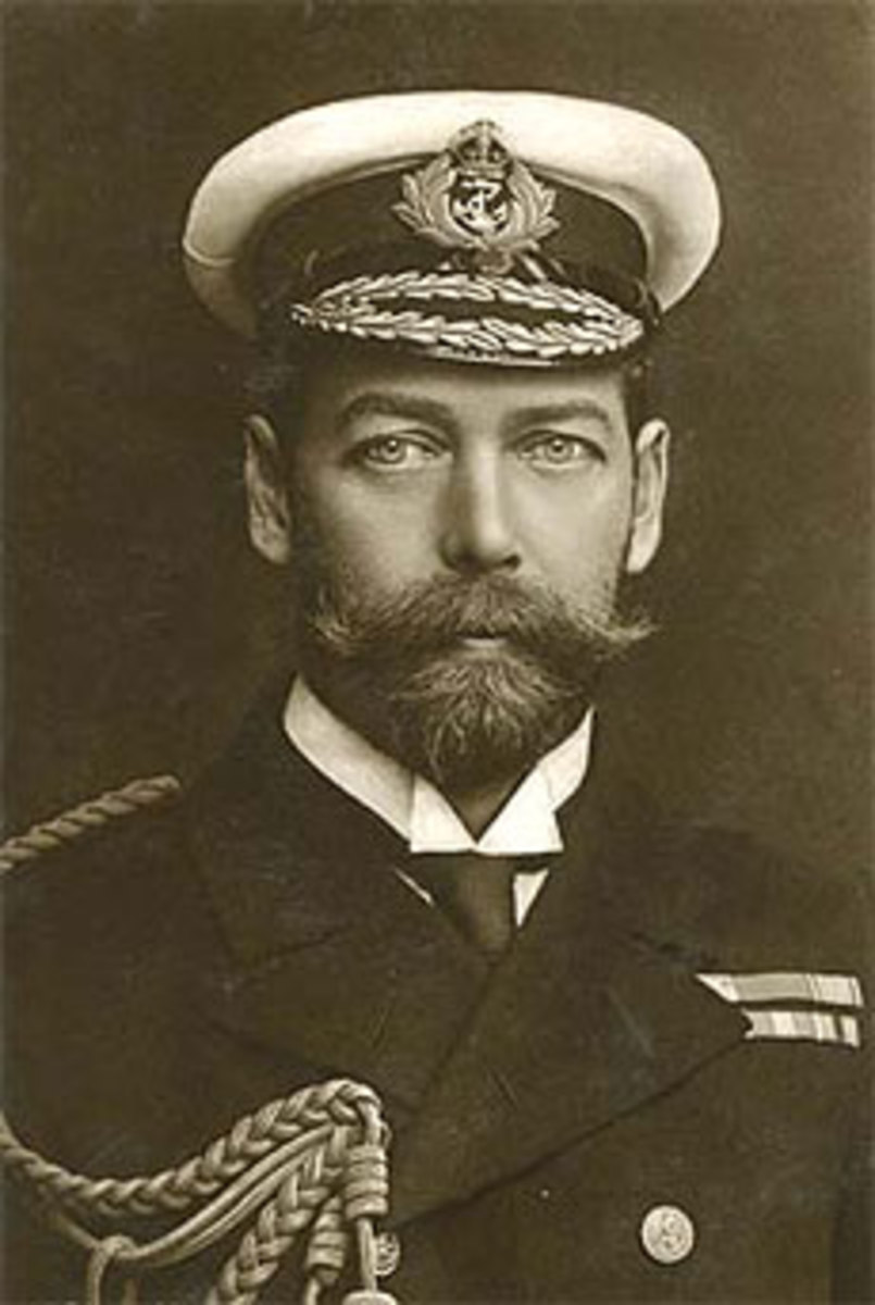 King George V, Prince Albert's father