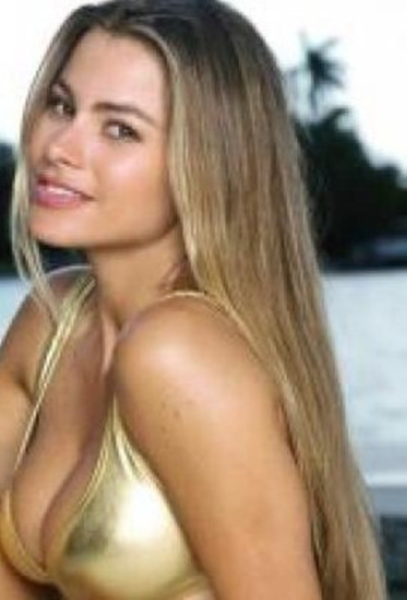 Sofia Vergara, Famous Colombian Blonde Actress