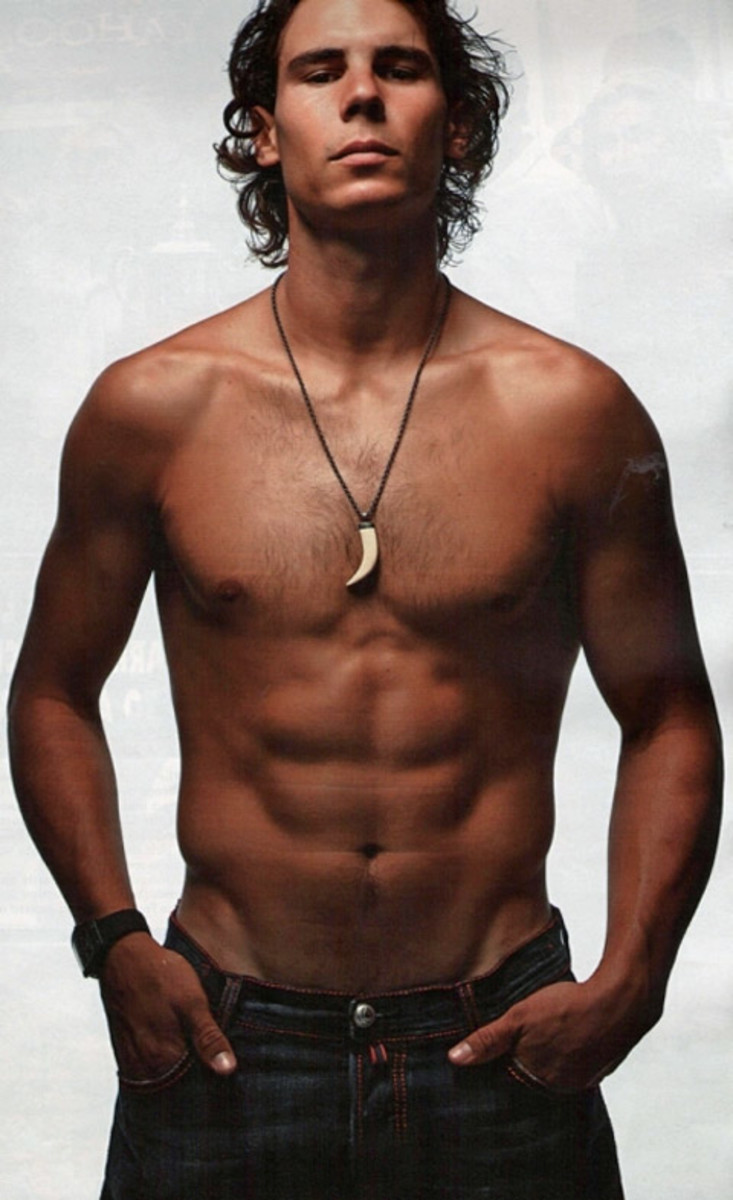 Rafael Nadal - Hot Male Olympic Bodies