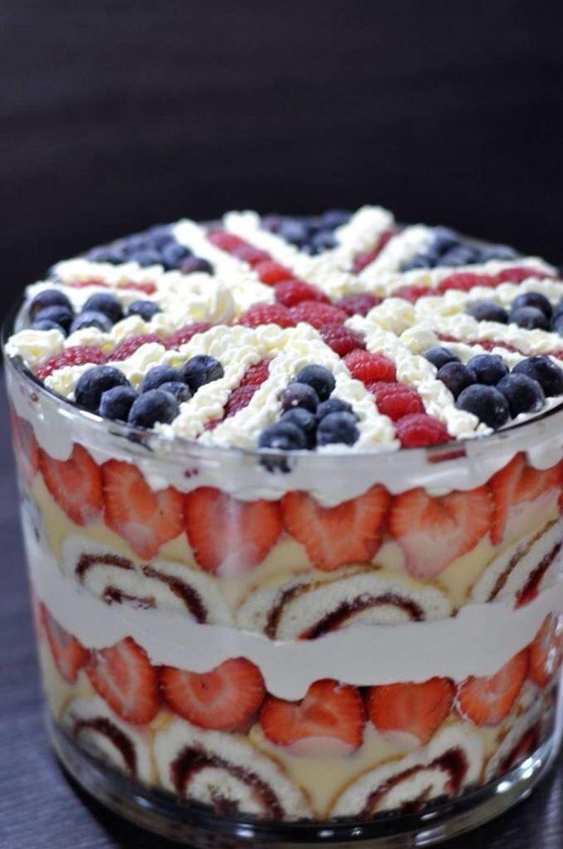 Mocha Raspberry Trifle Recipe