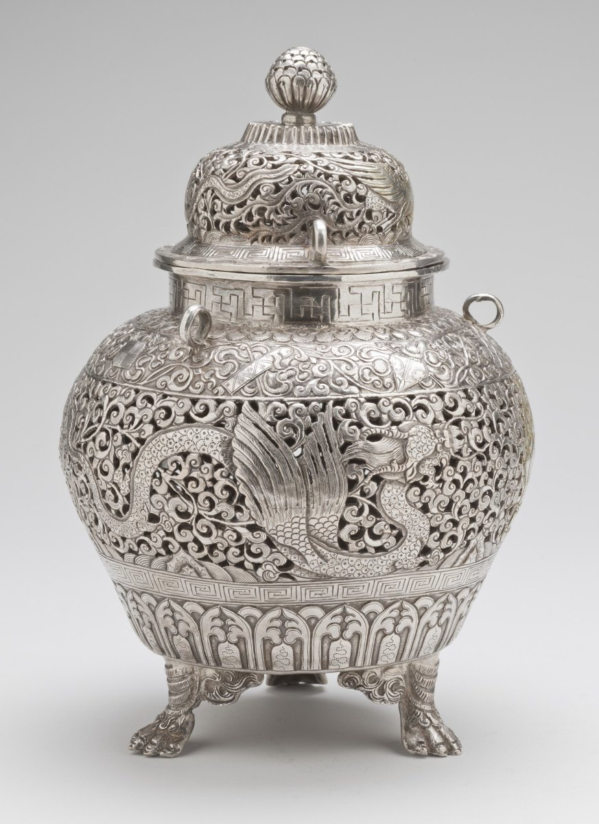 19th century censer used for burning insence.