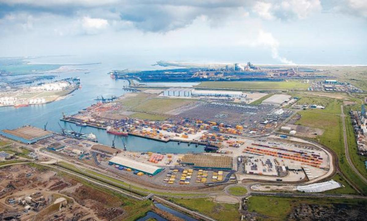 Tees Deep Water Terminal took over from Middlesbrough Docks to secure the Tees' position as a competitive harbour facility on the East Coast