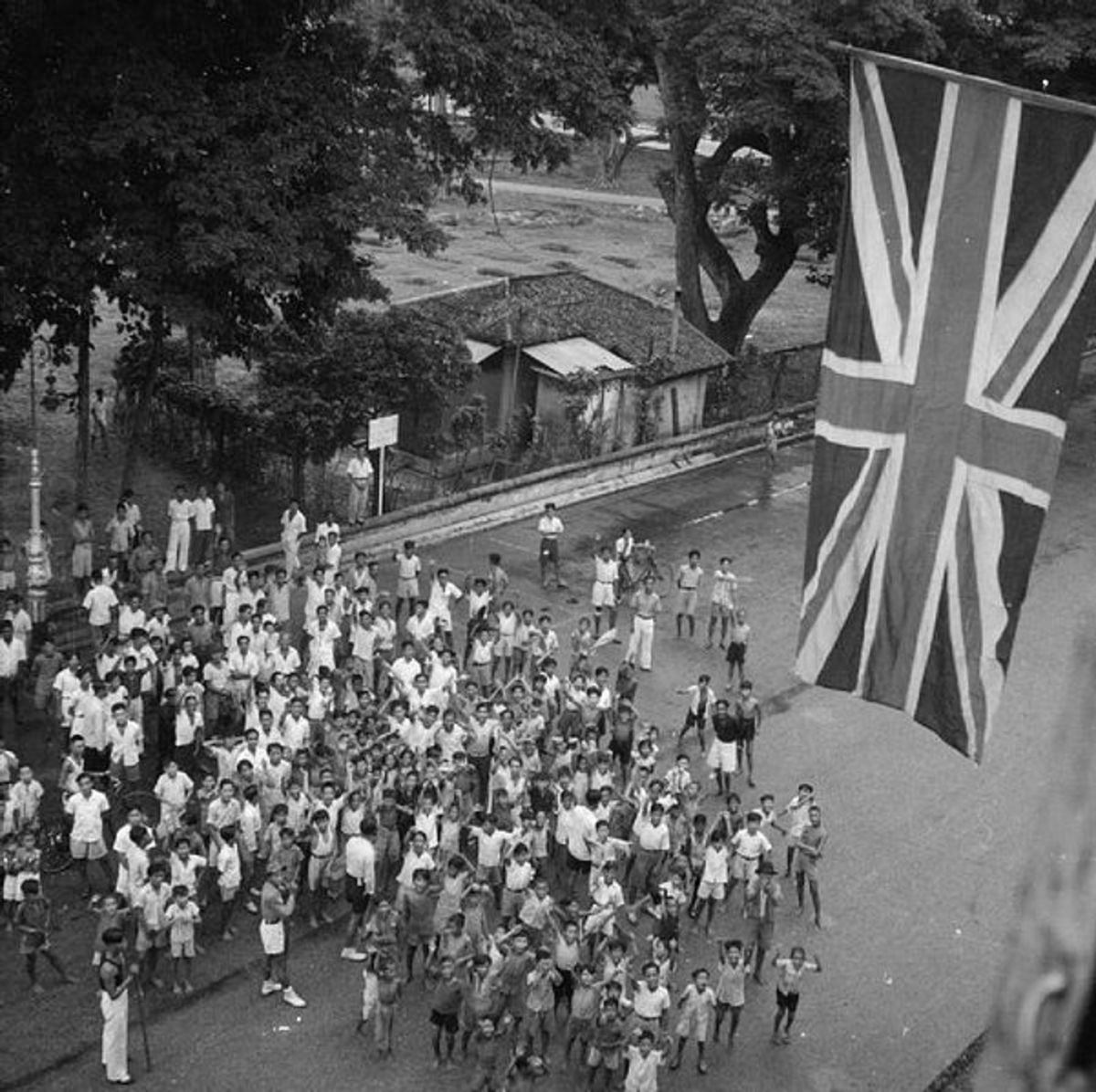 On the 12th September 1945- the victorious British returned to reclaim Singapore, but their war experiences had changed both the colony and its master. By the 1960s the British were gone and the people of Singapore were now in  full charge.
