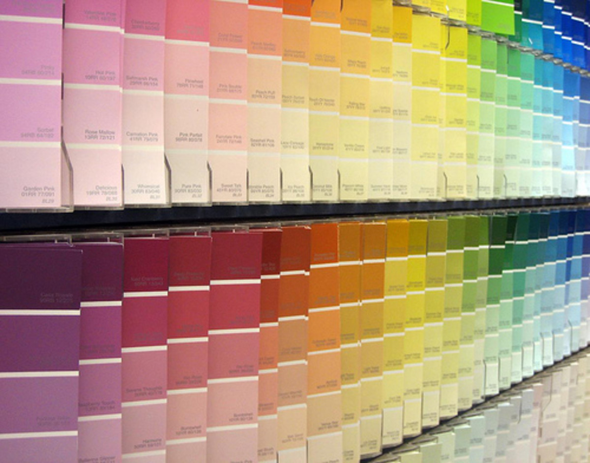 Choose from a myriad of colors to update your house with paint.