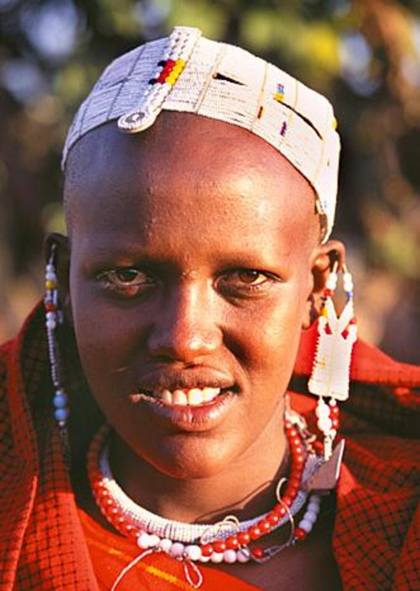 Maasai young Warrior (moran)