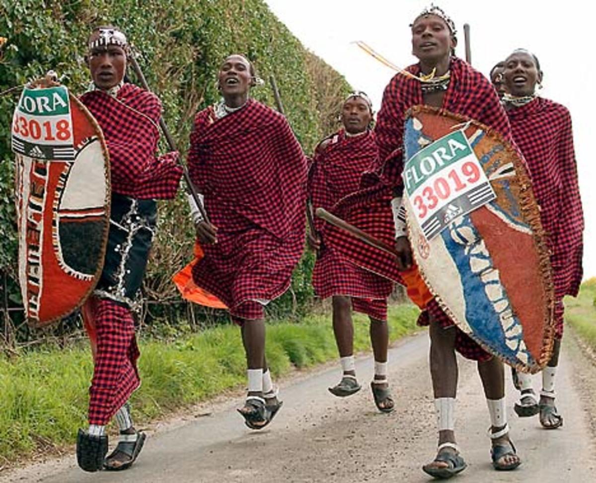 Maasai morans