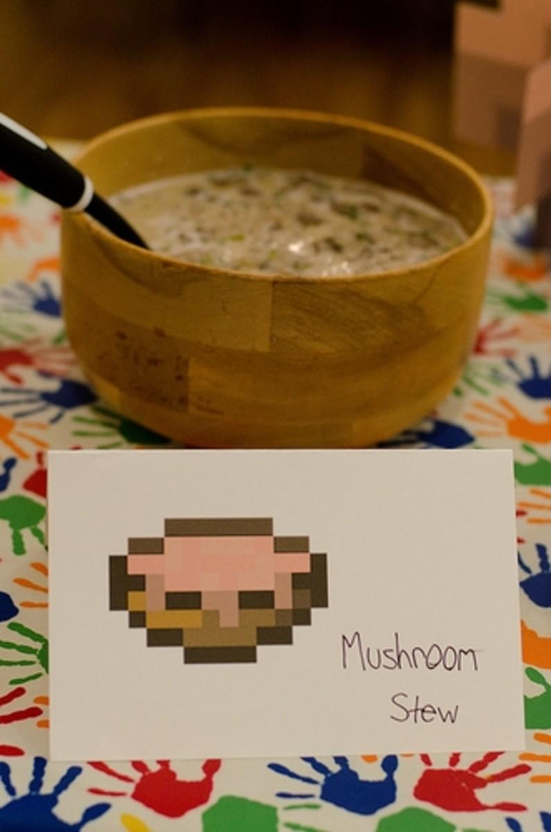 Minecraft Mushroom Stew