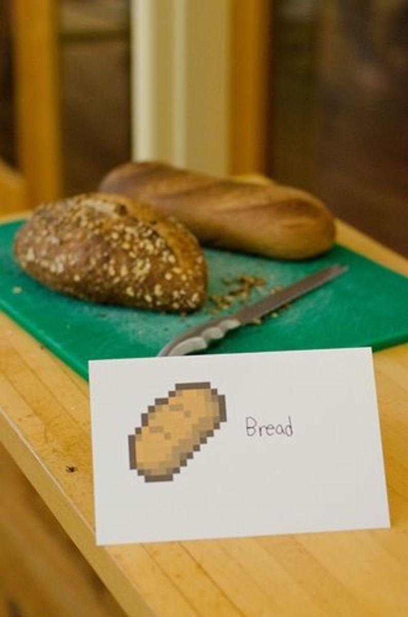Minecraft Bread