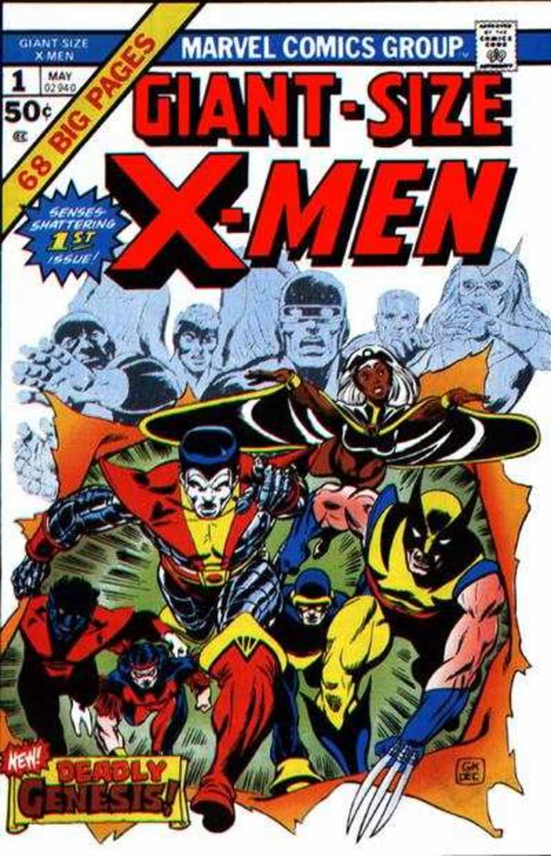 Giant Size X-Men #1 Marvel Comics