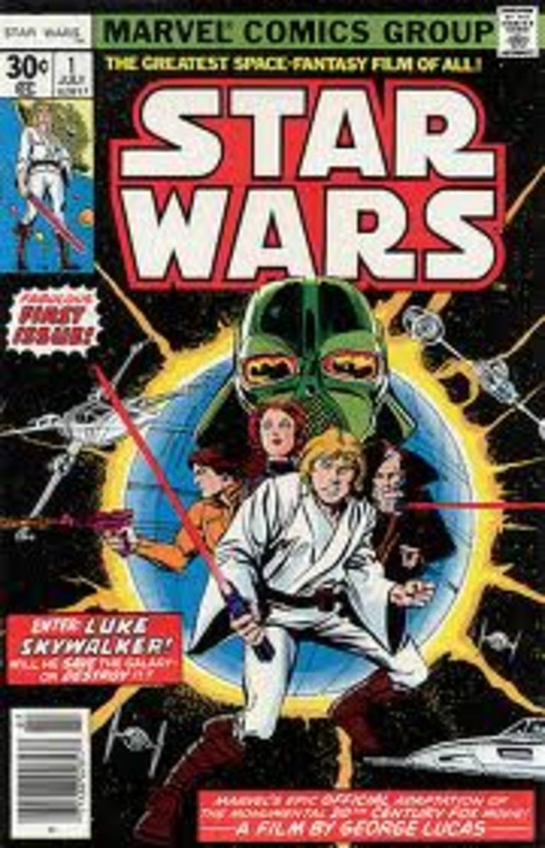 Star Wars #1 regular 30 cent issue by Marvel. Still a relatively cheap bronze age comic investment.